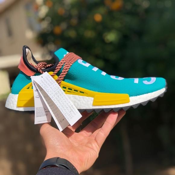 Adidas zapatos raza humana NMD talla 11 poshmark Sun Glow